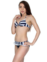 Nautical Bikini Set w/ Coverup