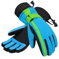 Simplicity Kid's Cotton Windproof Waterproof Snow Ski Gloves