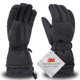 Men Waterproof Outdoors Winter Ski Gloves