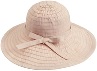 Floppy Women Sun Hat Foldable Large Brim Hat with Ribbon