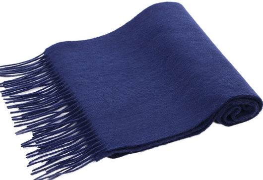 100% Cashmere Scarf w/ Gift Box, Cobalt Blue