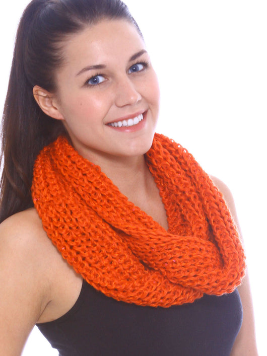 Paillette Infinity Scarf