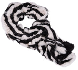 Women's Faux Fur Twisted Neck Warmer Scarf Wrap