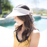 Women Wide Brim Sun Visor Hat