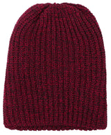 Men Thick Stretchy Knit Slouchy Skull Cap Beanie
