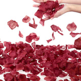 Separated 1000 Pcs Rose Petals Wedding Party Decoration