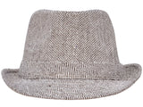 Short Brimmed 800 Fedora w/ Band