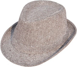 Men's and Women's Classic Gangster Trilby Fedora Hat