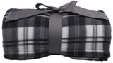 Lightweight Plaid Fleece Soft Throw Blankets for Adults