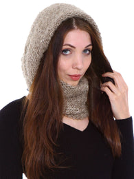 Winter Knit Infinity Scarf