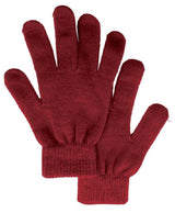 Solid Colored Knit Gloves