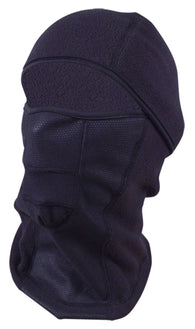 Wind-Resistant Hinged Balaclava-Style Full Face Ski Mask Black