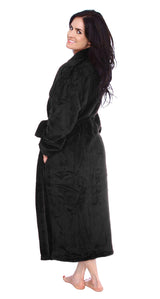 Warm Unisex Plush Robe