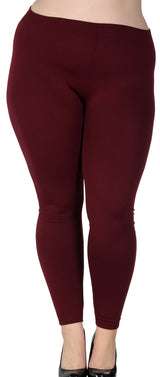 Women's Lovely Plus Cotton Stretchy Fit Leggings