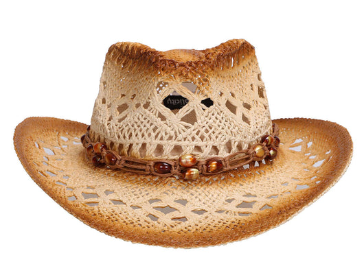 Men / Women's Summer Woven Straw Cowboy Hat