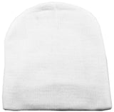 Women/Men Basic Solid Color Warm Knit Beanie Hat