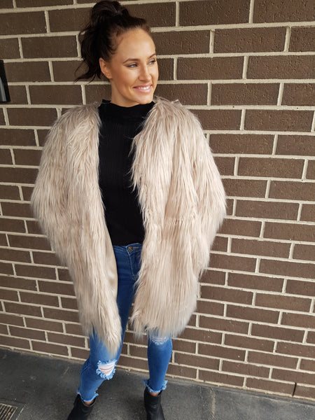 Florence Faux Fur Coat