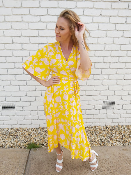 Bonnie Wrap Dress