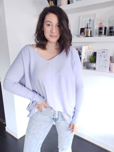Tully Knit - Lilac