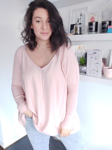 Tully Knit - Blush