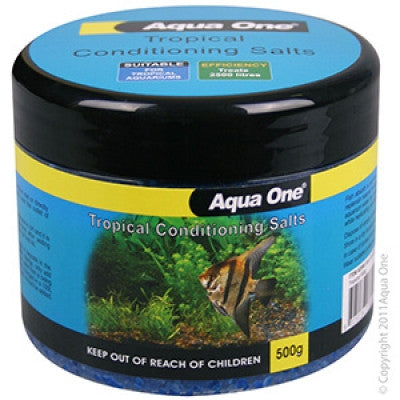 Aqua One Tropical Conditioning Salt 500g