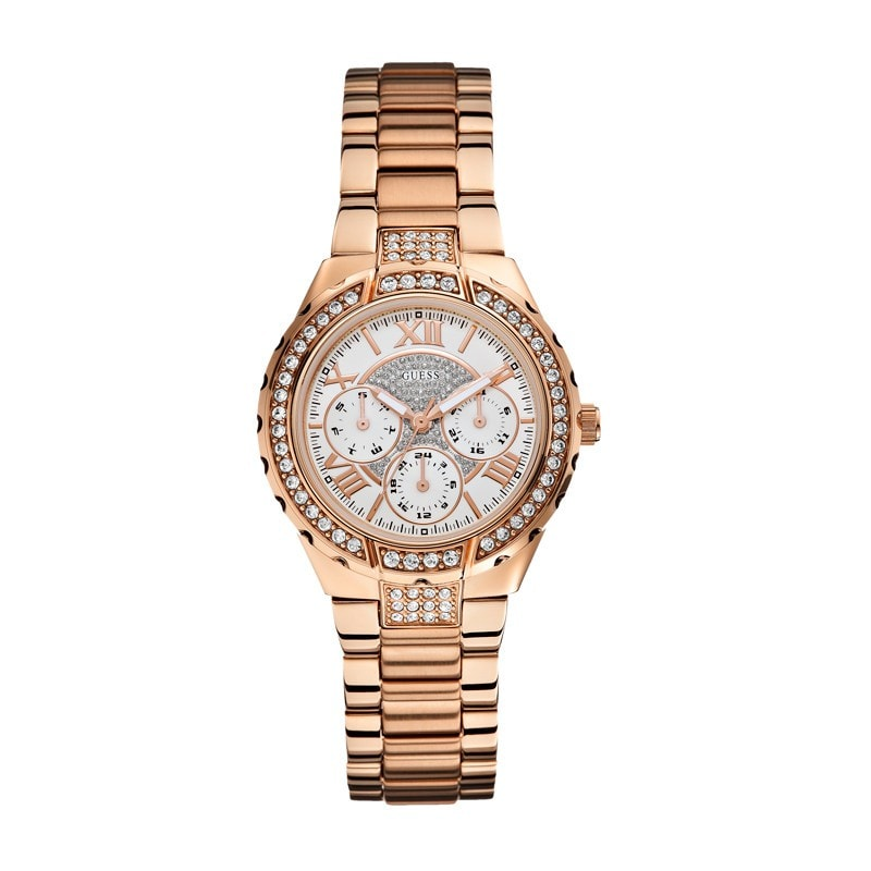 Guess Ladies' Viva Chronograph Watch (W0111L3)