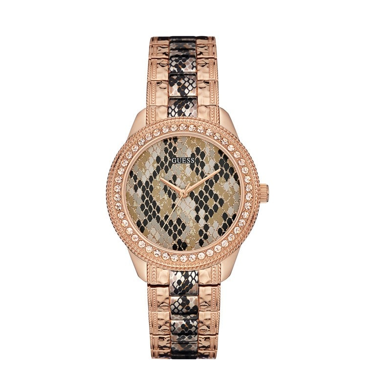 Guess Ladies Serpentine Watch (W0624L2)
