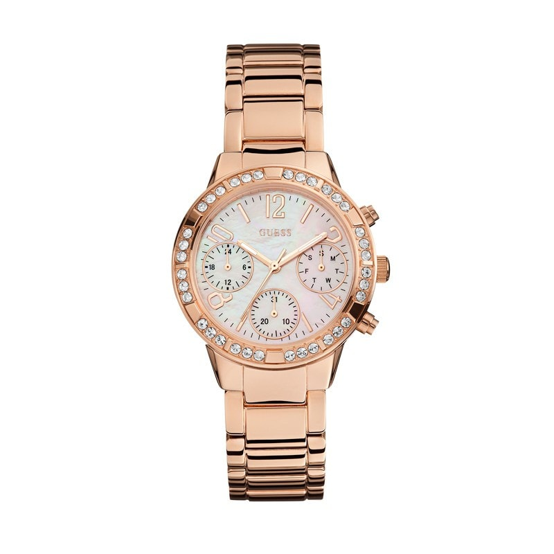 Guess Ladies Mini Glam Watch (W0546L3)