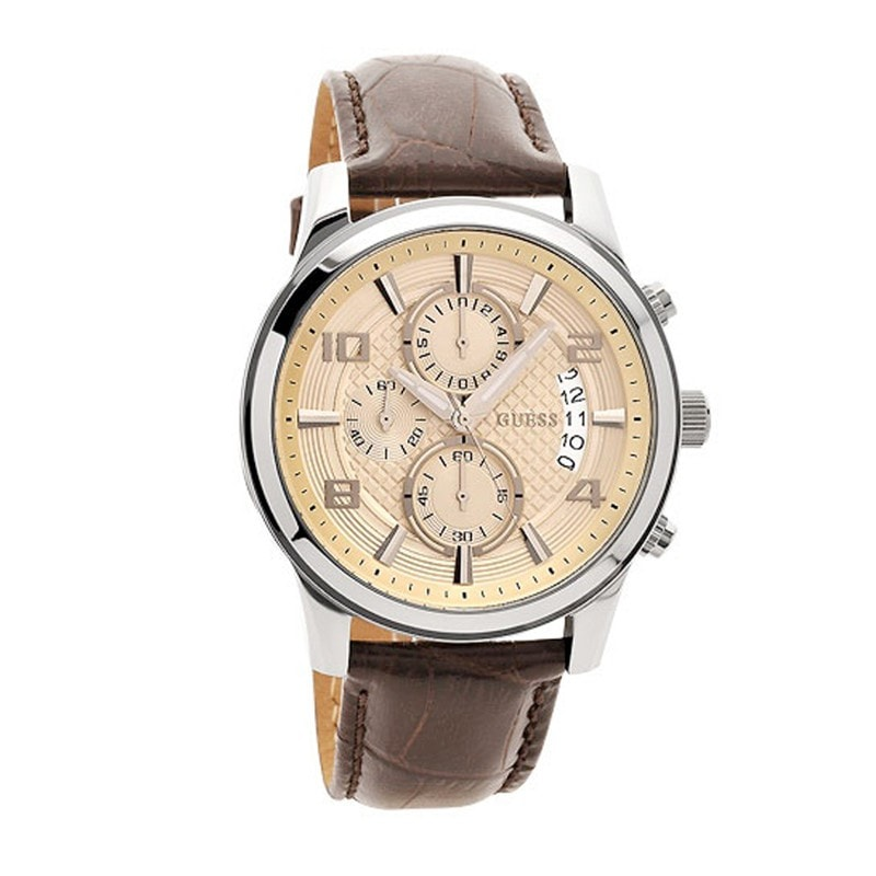 Guess Men's Exec Chronograph Watch (W0076G2)