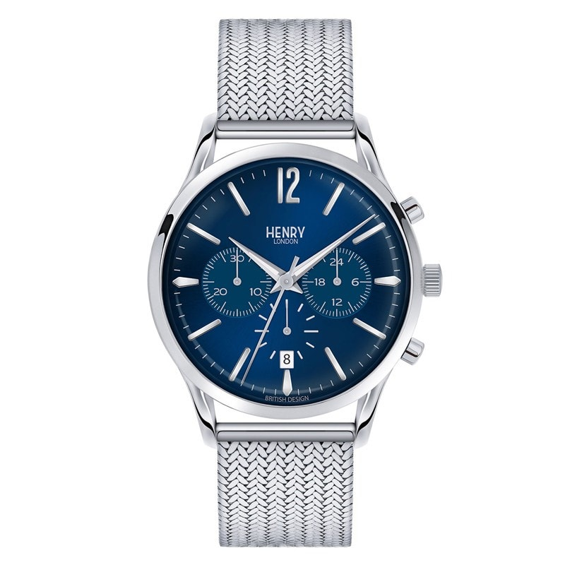 Henry London Men's Knightsbridge Chronograph Watch [HL41-CM-0037]