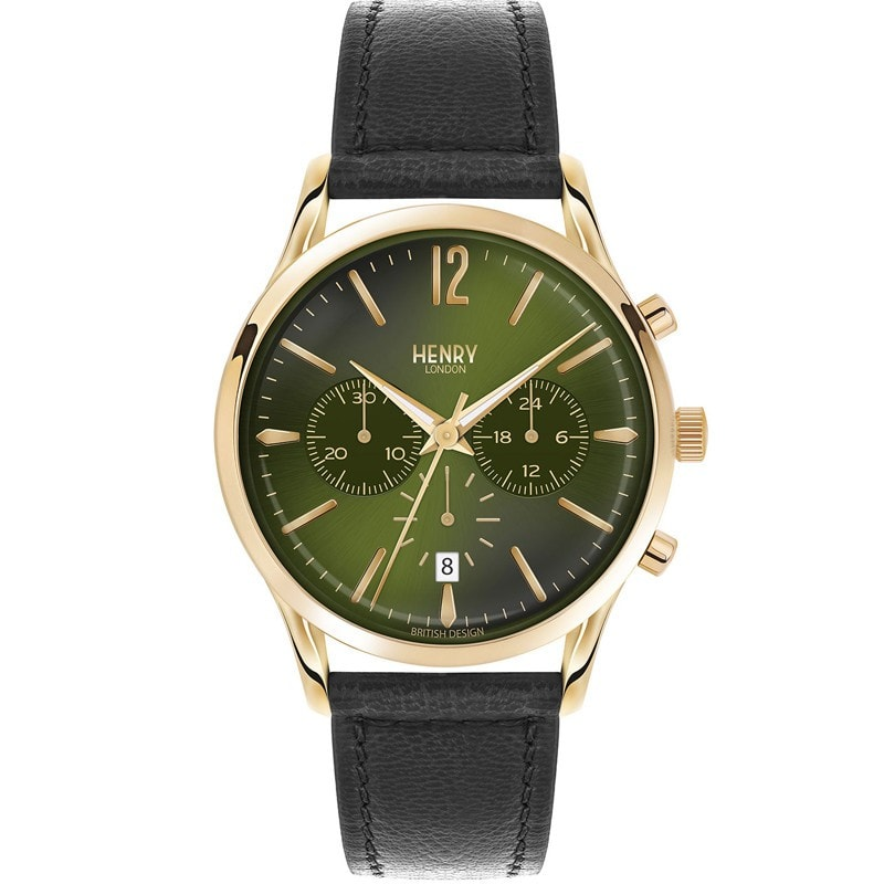 Henry London Men's Chiswick Chronograph Watch [HL41-CS-0106]