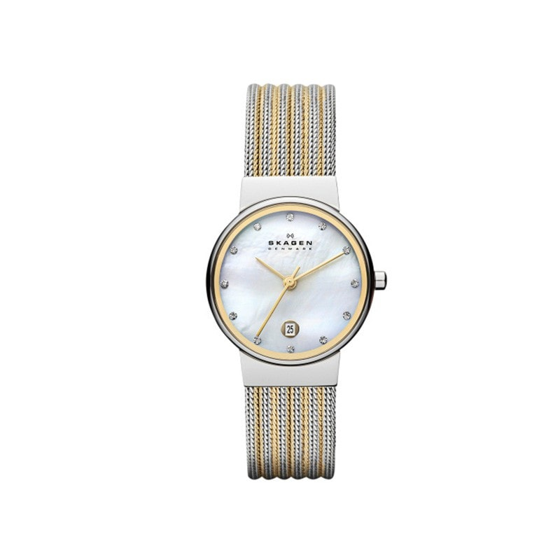 Skagen Ladies' Ancher Refined Gold Watch