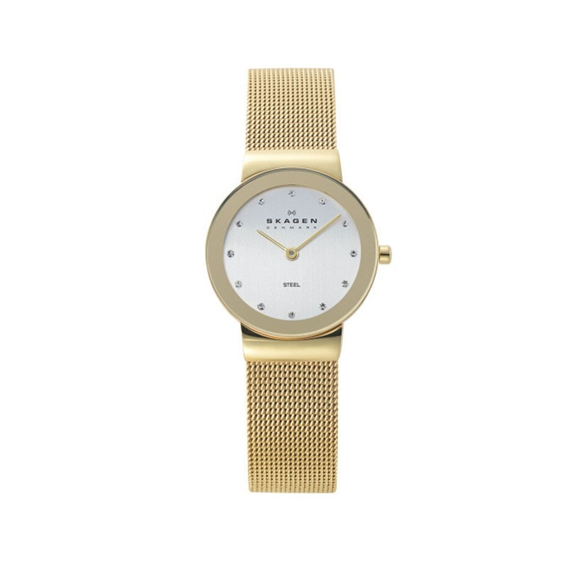 Skagen Ladies' Freja Refined Gold Watch