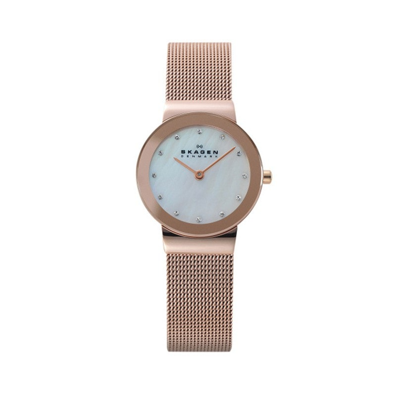 Skagen Ladies' Freja Refined Rose Gold Watch
