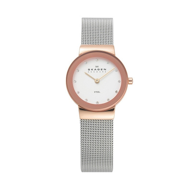 Skagen Ladies' Freja Refined Rose Gold / Steel Watch