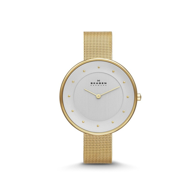 Skagen Ladies' Gitte Refined Gold Watch