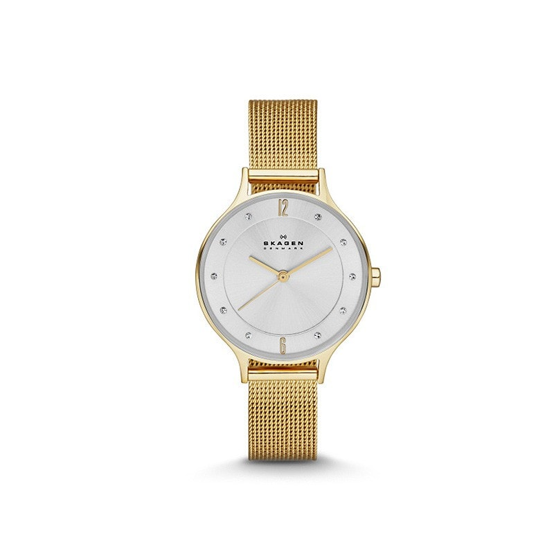Skagen Ladies' Anita Refined Gold Watch
