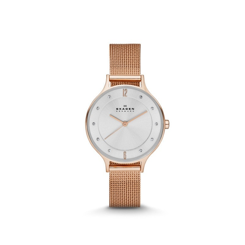 Skagen Ladies' Anita Refined Rose Gold Watch