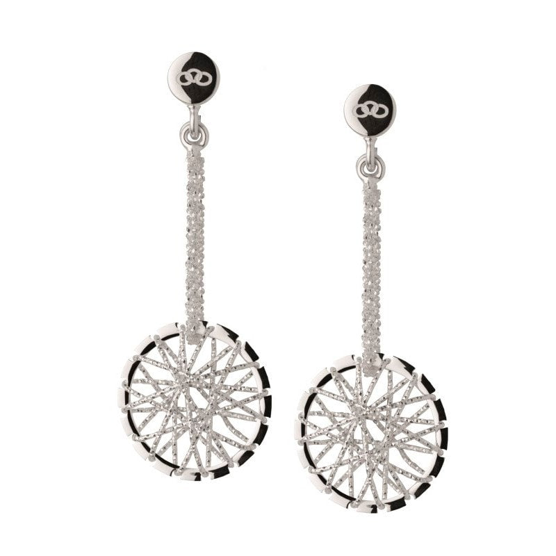 Links of London - Dream Catcher Stiletto Drop Earrings Sterling Silver