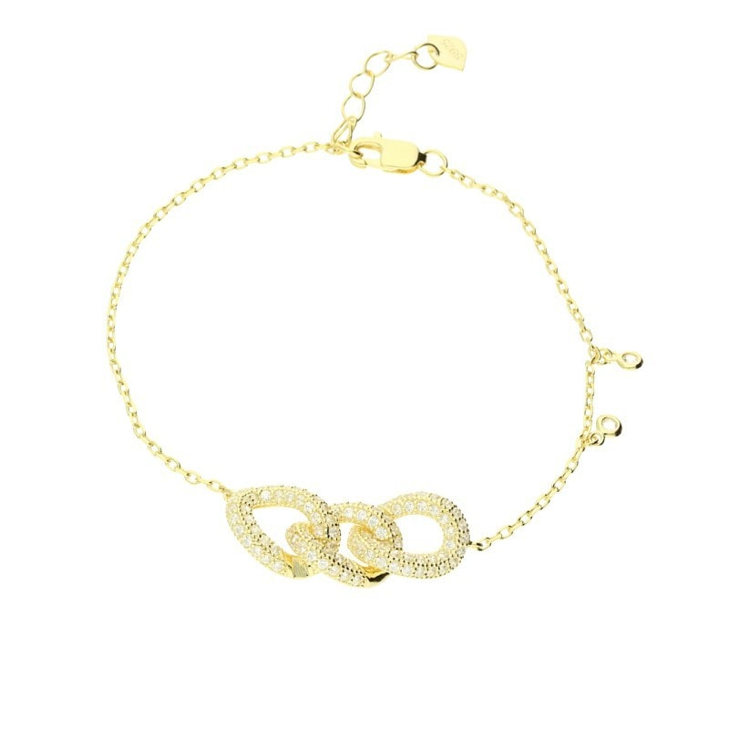 Zohara Chain Link Bracelet In Yellow Gold