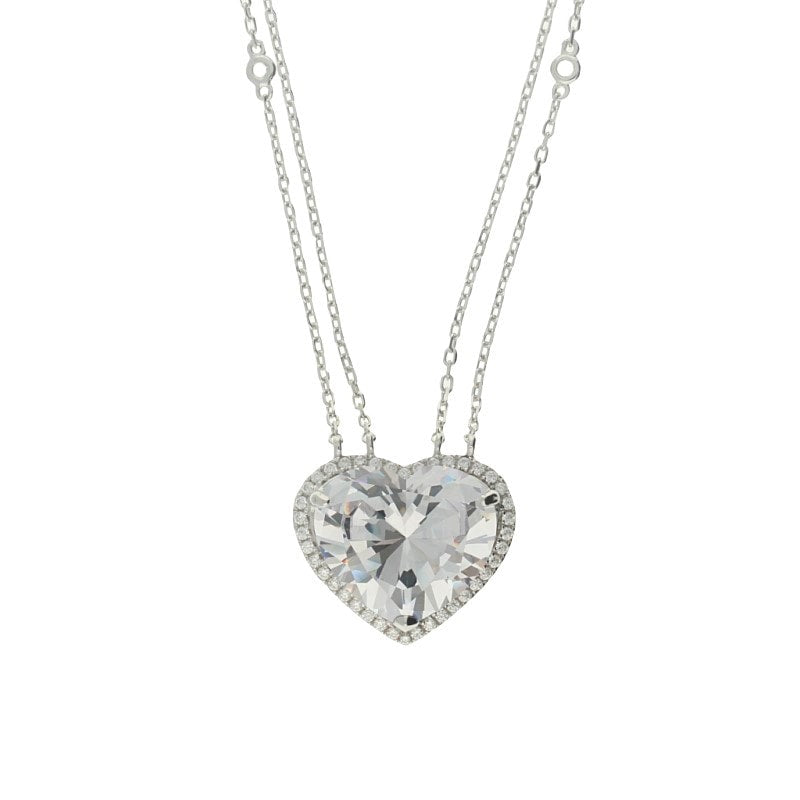 Zohara Passion Heart Pendant Necklace