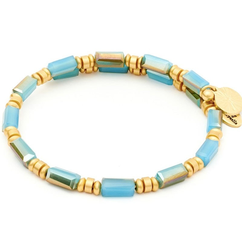 Chrysalis Wrap Water Turquoise Bangle