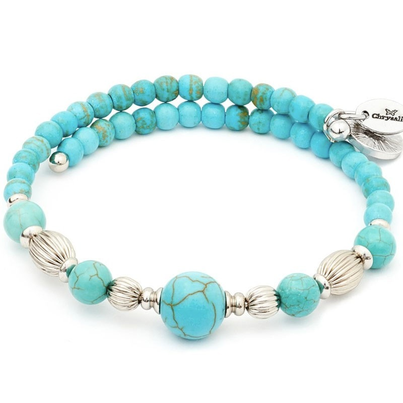 Chrysalis Wrap Summer Turquoise Bangle