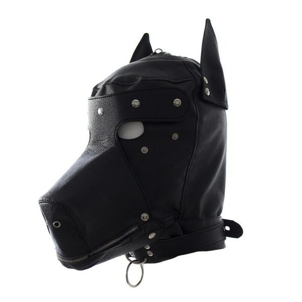 Sex Toy - Dog Hood & Blindfold