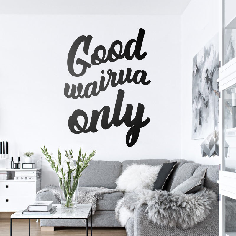 Good Wairua Only Decal