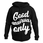 Good Wairua Unisex Zipped Hoodies