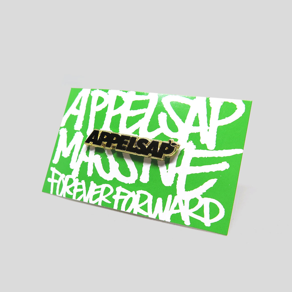 Appelsap Gold Logo Pin