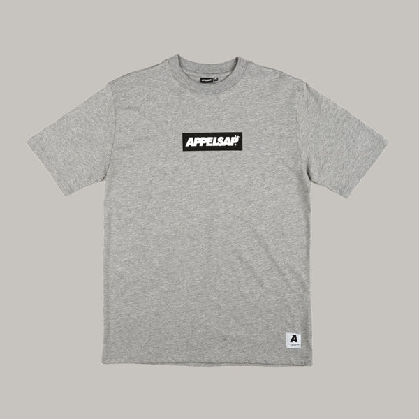 Appelsap 'Logo' Line-up T-shirt Grey