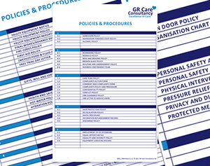 Policies, Procedures & Plans Template