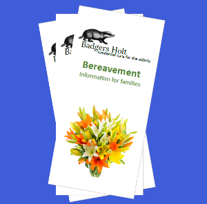 Custom Bereavement Brochure